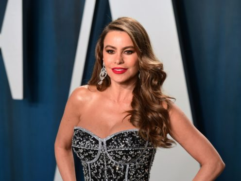 Sofia Vergara has promised to get revenge after her America's Got Talent co-star Simon Cowell successfully pranked her with a fake crossbow stunt (Ian West/PA)