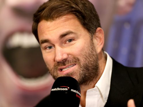 Eddie Hearn is the public face of Matchroom (Bradley Collyer/PA)