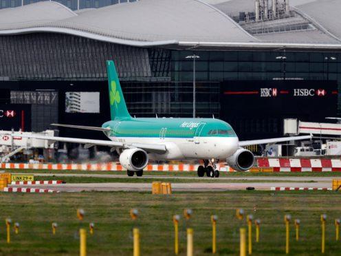 Aer Lingus has put in place alternative arrangements (Steve Parsons/PA)
