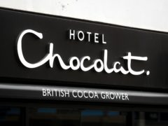 Hotel Chocolat's cheapest box of chocolates costs more than the confectioner paid for beauty business Rabot (Mike Egerton/PA)