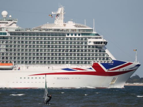 Hundreds of holidaymakers have had domestic cruises cancelled because the delay in lifting capacity constraints means ships are overbooked (Andrew Matthews/PA)