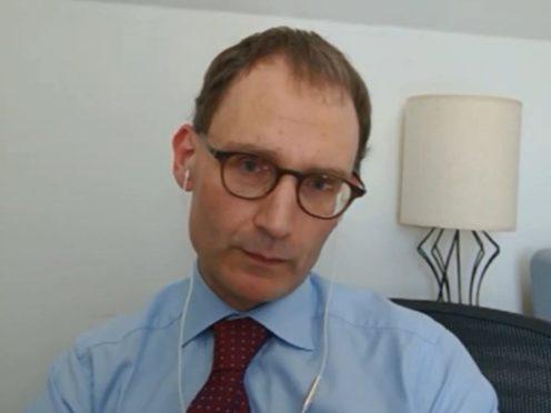 Professor Neil Ferguson, of Imperial College London (Parliament TV/PA)
