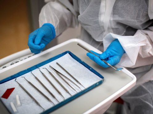 The British Dental Association said poor dental health was expected to have increased during the pandemic (Victoria Jones/PA)