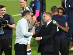 Sporting and technical director Luke Dowling, right, has left West Brom. (Nick Potts/PA)