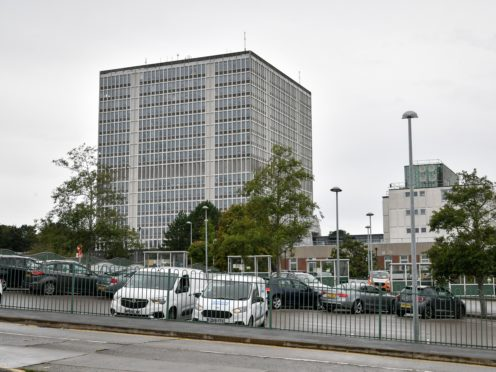 The DVLA in Swansea, which is at the centre of a safety row (Ben Birchall/PA)
