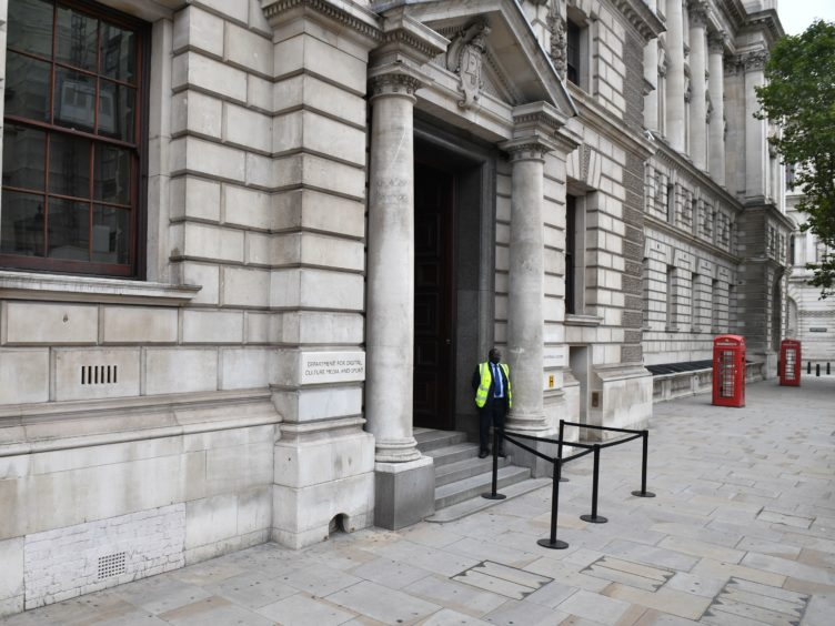 The Department for Digital, Culture, Media and Sport (DCMS) paid the majority of its £513 million coronavirus support package out to charities, voluntary groups, and social enterprises quickly (Dominic Lipinski/PA)