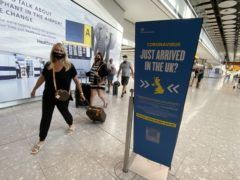 Several Greek islands, Malta and parts of the Caribbean could be added to the green travel list on Thursday, according to an industry expert (Yui Mok/PA)