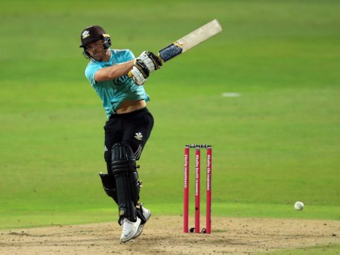 Laurie Evans will hope to help Surrey enjoy another successful Vitality Blast campaign (Mike Egerton/PA)