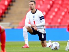 Jordan Henderson said the boos show there is a need for the gesture to continue (Michael Regan/PA)