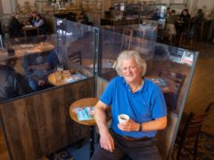 Wetherspoon boss Tim Martin has denied reports that his pubs have been hit by staff shortages due to Brexit (Dominic Lipinski/PA)
