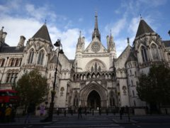 Brother and sister Alan Morris and Sharon Hudman fought over their father's estate in the High Court in London (Yui Mok/PA)