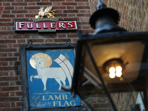 A closed Fullers' Lamb and Flag public house in Covent Garden (Yui Mok/PA)