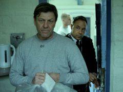 Sean Bean as Mark Cobden and Stephen Graham as Eric McNally in Time (Matt Squire/PA)
