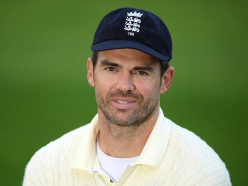 England bowler James Anderson (Mike Hewitt/PA)