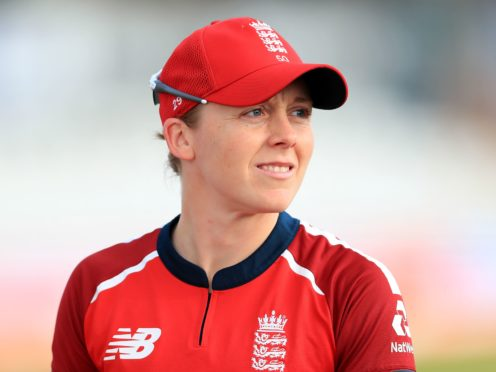 Heather Knight is set to make her eighth Test appearance next week (Mike Egerton/PA)