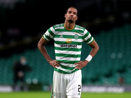 Celtic's Christopher Jullien is hoping to soon be ready for action (Andrew Milligan/PA)