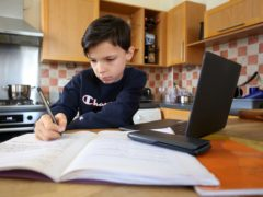 Online tutoring is set to soar, according to the boss of a private school group (Gareth Fuller/PA)