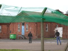 A view of Napier Barracks in Folkestone, Kent (Gareth Fuller/PA)