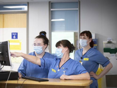 The RCN is calling for a crackdown on hiring people without proper qualifications (Jane Barlow/PA)
