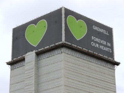 Grenfell Tower (Jonathan Brady/PA)