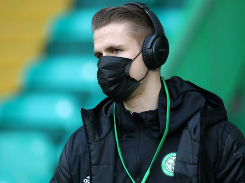 Celtic's Kristoffer Ajer wants to leave this summer (Andrew Milligan/PA)