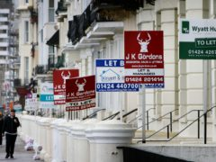 Renting a home is now cheaper than buying one typically, reversing a trend seen for the past six years, according to Hamptons (Gareth Fuller/PA)