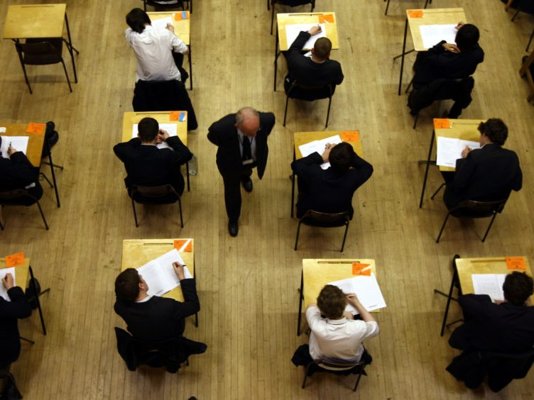 This year's exam diet was cancelled due to the pandemic (PA)