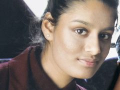 Shamima Begum and two other east London schoolgirls travelled to Syria to join the so-called Islamic State group in February 2015 (PA)