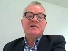 Sir Kevan Collins (Parliament TV/PA)