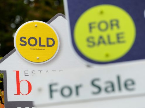 Property portal OnTheMarket has returned a profit for the first time in its six-year history (Andrew Matthews/PA)