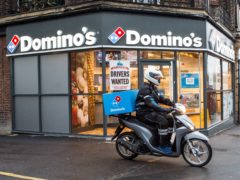 Domino's said demand shows no sign of slowing (Domino's/PA)