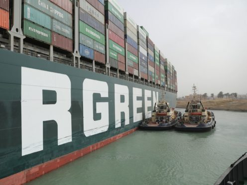 (Suez Canal Authority)