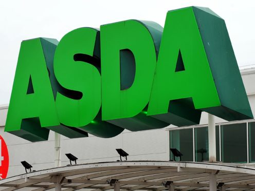 Retail giant Asda unveiled a jump in sales in the three months to March (Rui Vieira/PA)