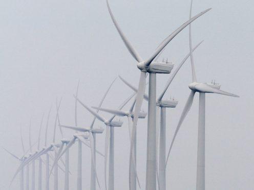 Offshore wind farm GV (Gareth Fuller/PA)