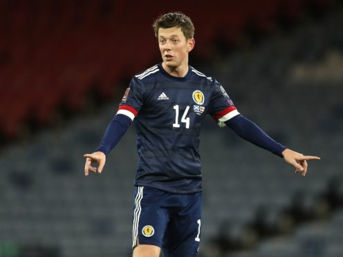 Callum McGregor says Scotland are not getting carried away after Wednesday's Dutch draw (Andrew Milligan/PA)