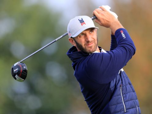 Premier Golf League would need to entice players like world number one Dustin Johnson (Gareth Fuller/PA)