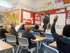 Children in schools (PA)