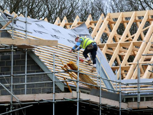 New orders in the UK construction sector have hit levels not seen in 24 years (Rui Vieira/PA)