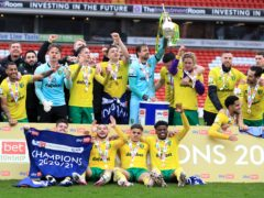 Norwich's players have been heavily recognised in the PFA Championship team of the year (Mike Egerton/PA)