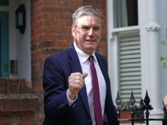 Sir Keir Starmer attacked the way some workers had been treated (Yui Mok/PA)