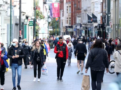 Retail sales improved in May as shops benefited from the easing of pandemic restrictions (Niall Carson/PA)