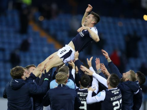 Cammy Kerr signs a new deal with Dundee (Jeff Holmes/PA)