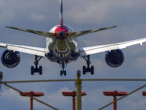 Airlines saw £2bn wiped off their value (Steve Parsons/PA)