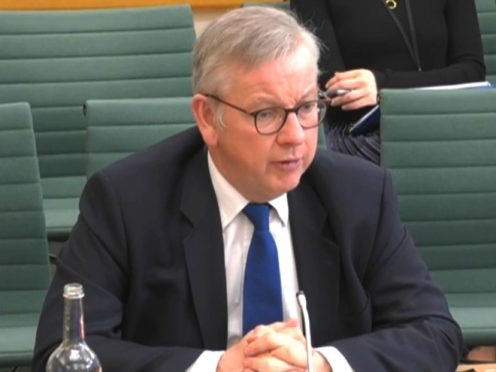Michael Gove will not be required to follow the usual self-isolation process because he is taking part in a pilot testing programme (House of Commons/PA)
