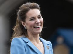 Kate says her children are sometimes reluctant to have their picture taken (Jane Barlow/PA)
