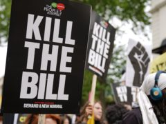 Demonstrations have been held in cities around England in response to the Bill (Aaron Chown/PA)