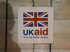 The Government has decided to reduce aid spending to 0.5% of national income (Stefan Wermuth/PA)