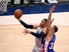 Washington Wizards guard Russell Westbrook (Nick Wass/AP)