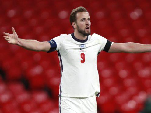 "Harry Kane says winning trophies with England is the ""ultimate goal"" (Ian Walton/PA)"