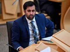 Humza Yousaf Health Secretary said later he 'regrets' any alarm his comments caused (Jeff J Mitchell/PA)